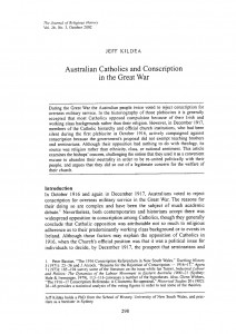 Catholics and Conscription Thumbnail