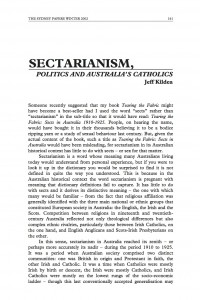 Sectarianism Politics Catholics Thumbnail